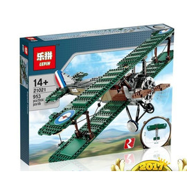Конструктор Lepin Истребитель Sopwith Camel, 953 детали