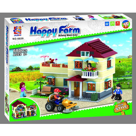 Конструктор Jilebao Happy Farm